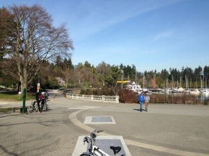 Beginning of Stanley Park